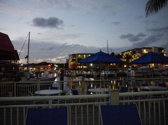 Marina Del Mar Resort And Marina:                   view from balcony