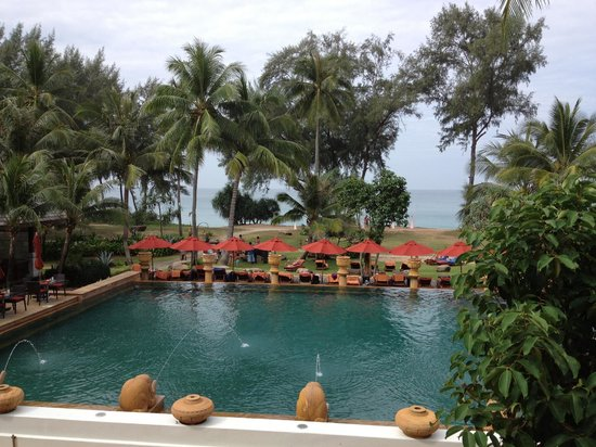 JW Marriott Phuket Resort & Spa:                   Pool and beach view
