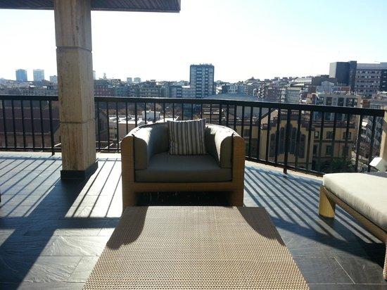 U232 Hotel:                   Terrazza