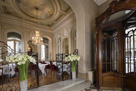 Regina Hotel: Restaurant-Salon Rivoli