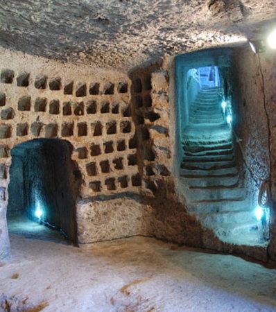 Orte, İtalya: Colombaia Rupestre