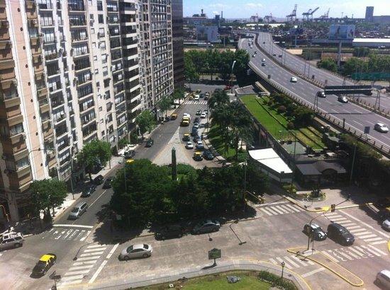 Four Seasons Hotel Buenos Aires: Aussicht Richtung Hafen