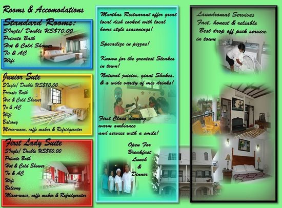 Martha's Guesthouse: Brochure