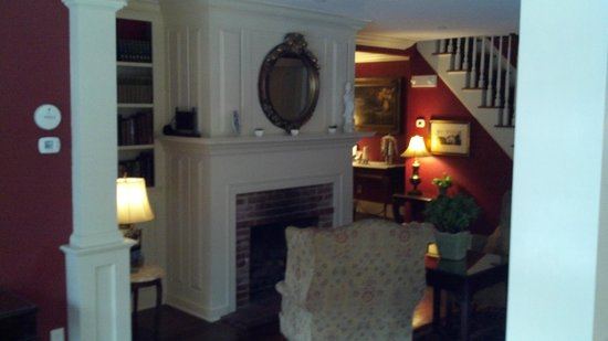 White Barn Inn:                   Living Room/Sitting area