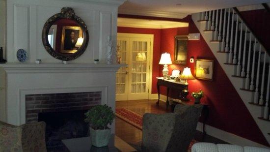 Grace White Barn Inn and Spa:                   Living Room/Sitting area