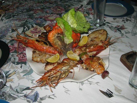Chez Alain :                   Primo piatto misto