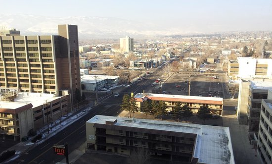Circus Circus Hotel and Casino-Reno: View from the room at Circus Circus hotel