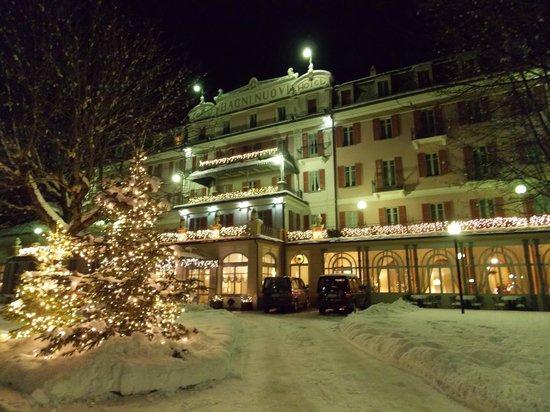 Grand Hotel Bagni Nuovi:                   отель зимой