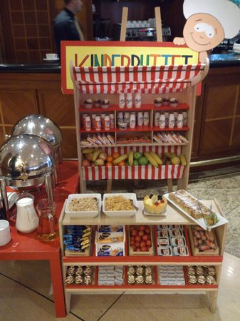 InterContinental Berlin:                   Kid breakfast