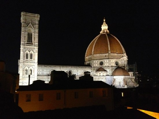 """Hotel Brunelleschi:                   View from """"Pool Suite"""" private balcony                 """