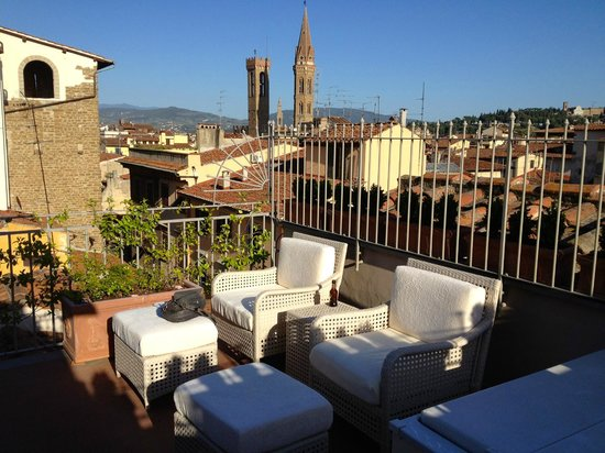 "Hotel Brunelleschi:                   Private Balcony ""Pool Suite"""