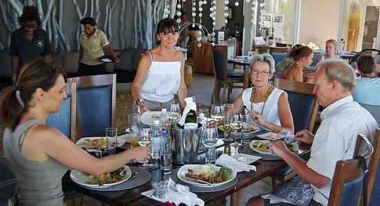 N/A'an KU SE Lodge :                   Ever so nice Sunday lunch