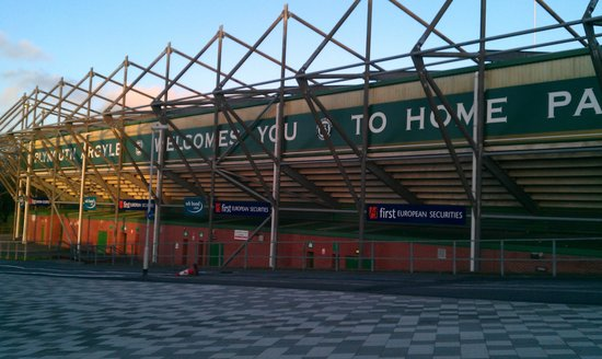 Plymouth Argyle Home Park Football Stadium Nrw By Car