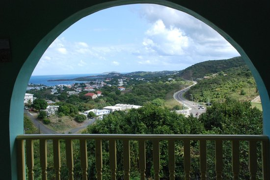 Carringtons Inn St. Croix:                   Christiansted harbor from our room