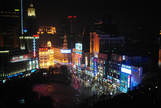 Grand Central Hotel Shanghai: view of nanjing road