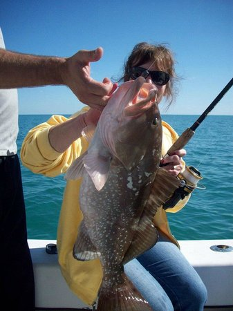 Round up fishing charters private tours key largo fl for Private fishing charters