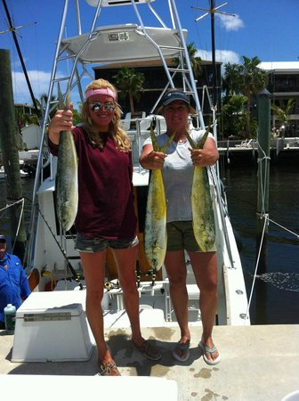 Round up fishing charters private tours key largo for Out of state fishing license florida