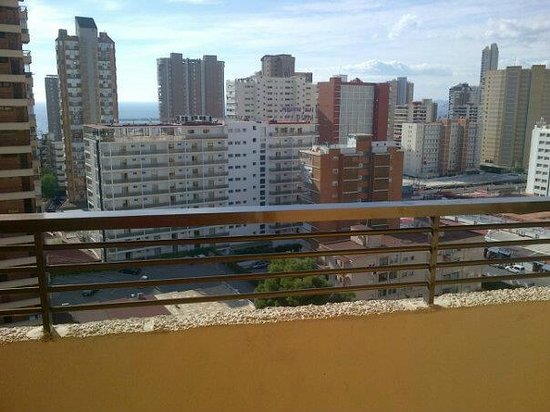 Halley Apartments:                   view from balcony