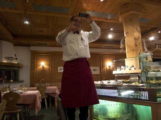Ristorante Murtarol:                   Voller Einsatz für die Gäste