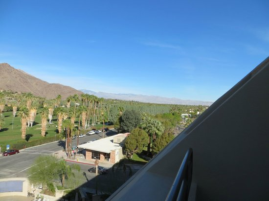 Hyatt Palm Springs:                   View from balcony