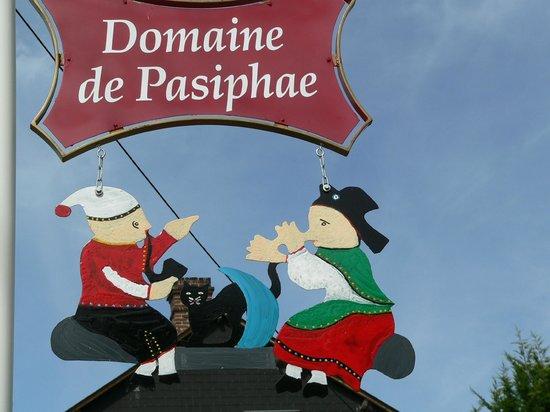 Le Domaine de Pasiphae : Entrée du Domaine