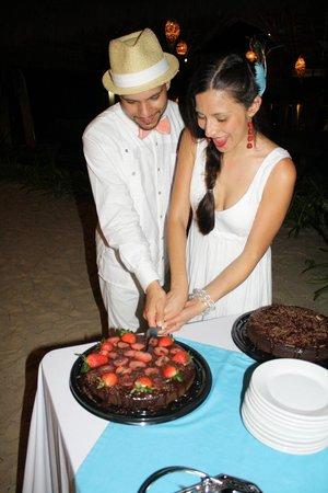 Vegan Planet:                   Dream come true! Dream husband & dream cake!