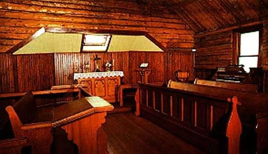 Old Log Church Museum:                   This solid wood church is an incredible must see in white horse
