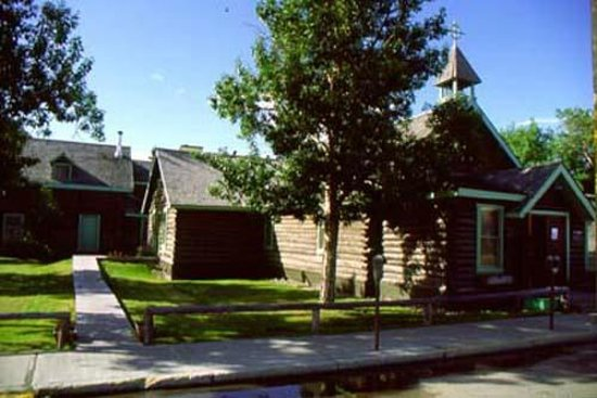 Old Log Church Museum:                   wow