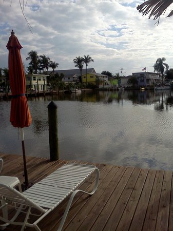 Manatee Bay Inn:                   The dock, just past the pool