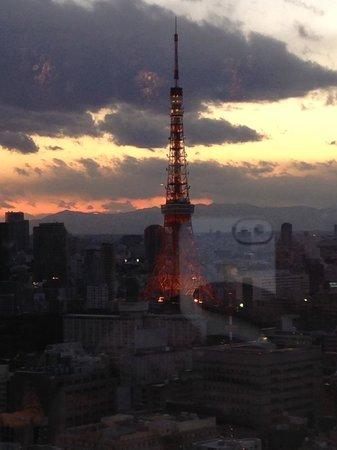 Park Hotel Tokyo: Lobby view