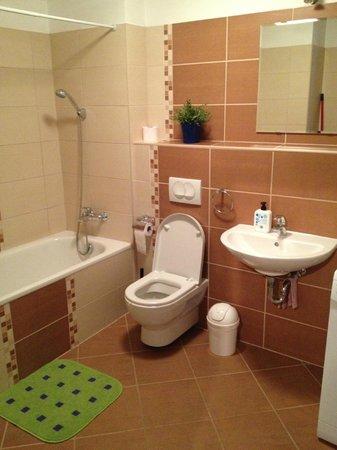 City Apartments Budapest:                   bathroom