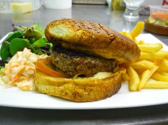 La Terrasse : Le fameux Hamburger