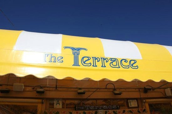 Terrace Cafe: Sign