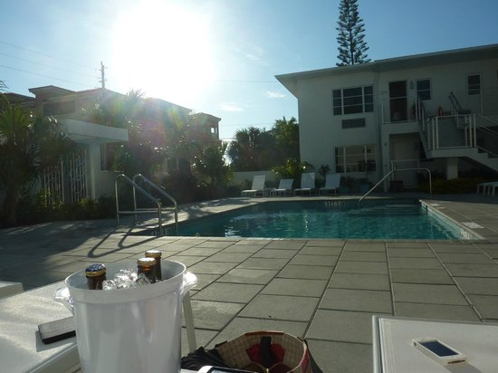 The Aqua Hotel:                   Pool