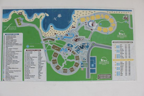‪‪Grand Sirenis Riviera Maya Resort & Spa‬:                   map
