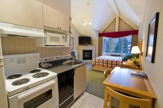 Pinnacle Hotel Whistler: Standard Studio
