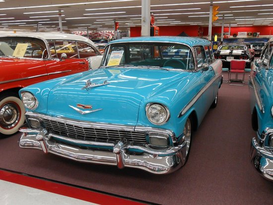 Muscle Car City Museum:                   Chevy Belair