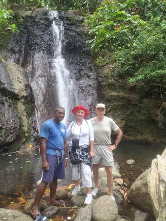 Lalati Resort & Spa:                   End of Strenous 1 hour trek                 