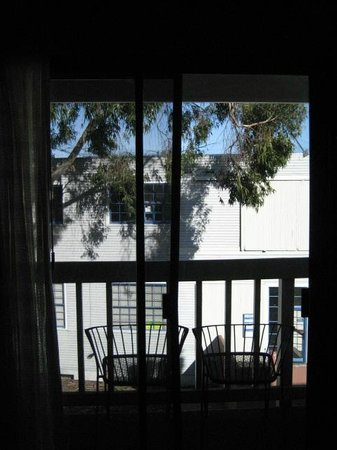Cannery Row Inn: View from room