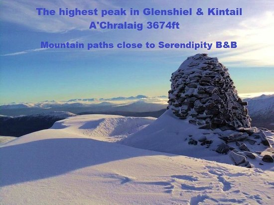 Serendipity Bed and Breakfast: Numerous Mountain Pathways near Serendipity B&B