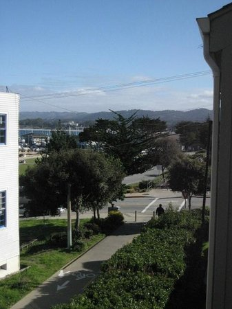Cannery Row Inn: View from balcony