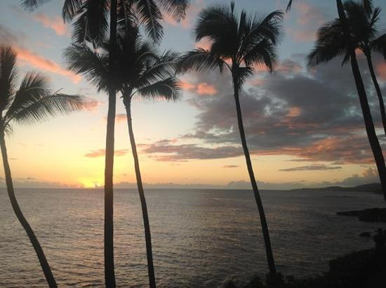Poipu Makai:                   your own private sunset cruise every night from Unit E2 at Poipu Makei!