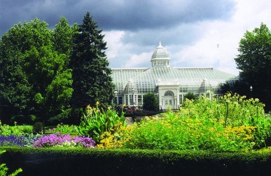 The John F. Wolfe Palm House, Franklin Park Conservatory And Botanical  Gardens