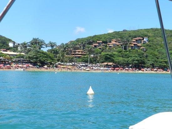 La Boheme Hotel e Apart Hotel:                   Vista del complejo desde una excursión en el mar