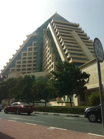 Raffles Dubai:                   Building view