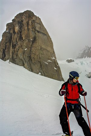 Vallee Blanche: Skiing down the Vallée Blanche