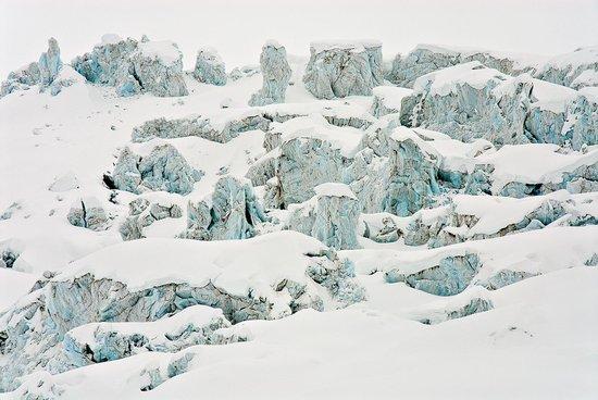 Vallee Blanche: Les Séracs du Géant
