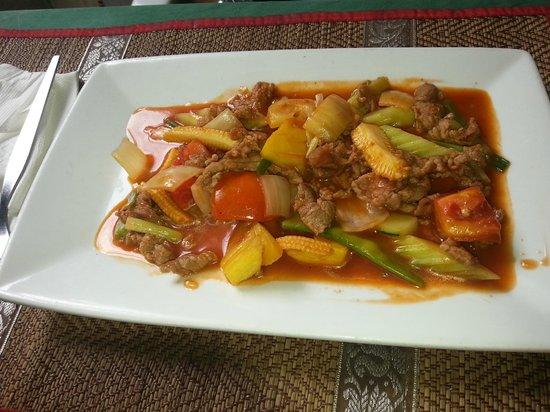 Chabadang Restaurant & Bar:                   CHICKEN CASWUR ? NUTS