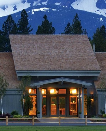 Black Butte Ranch Golf Club: Big Meadow clubhouse