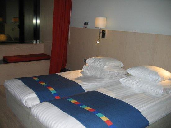 Park Inn by Radisson Stockholm Hammarby Sjostad: Hotel Park Inn. Twin room.
